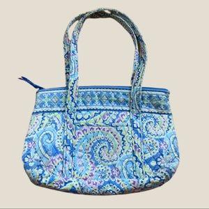 Vera Bradley Blue and Lavender Swirl Shoulder Bag